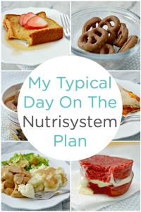 Nutrisystem Uniquely Yours food